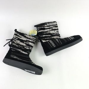 Toms Black Suede Nepal Boot H6414861